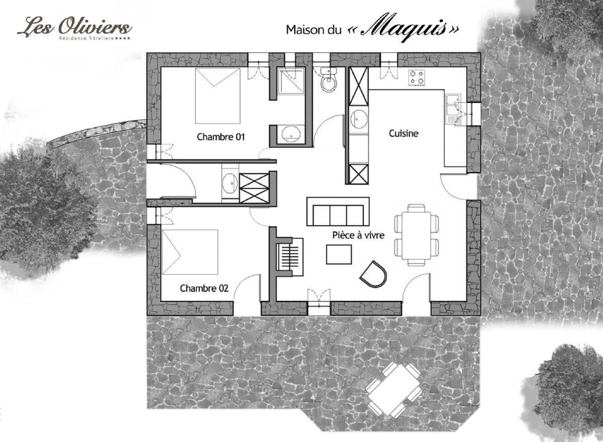Plan Villa Maquis