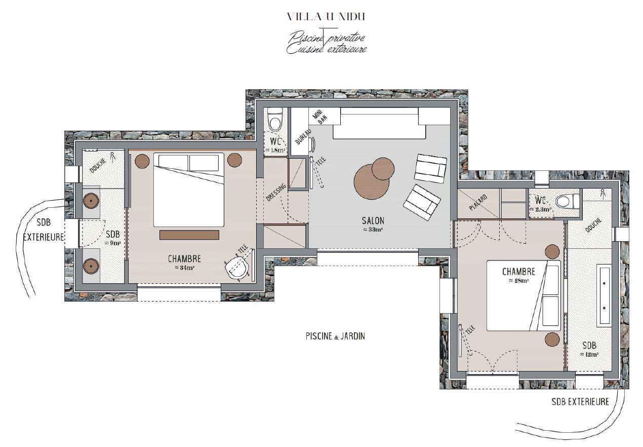 Plan Villa U Nidu